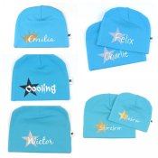 Turquoise name hats