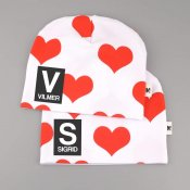 Hearts beanie - Letter and name