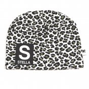 Leopard (GREEN) beanie with name - Letter and name
