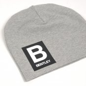 Grey beanie with name - Letter and name