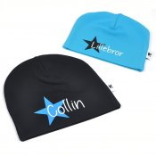 Black beanie with name - Star