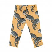 Dear Sophie - Narwhal Yellow Leggings