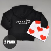 Duo deal - Hoodie and Heartbeanie