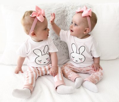Tshirt - Rabbit (White)