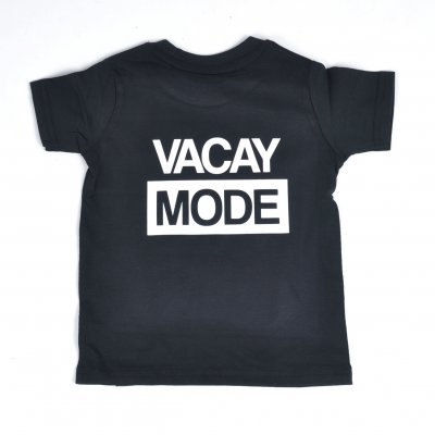 Tshirt - Vacay mode (black)